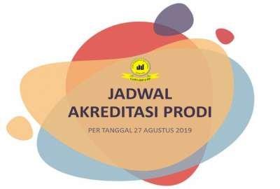 Update Jadwal Akreditasi Program Studi