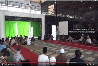 Duduki Peringkat 4 PTS Se-Jabar - Banten, UNIDA Bogor adakan Tasyakuran