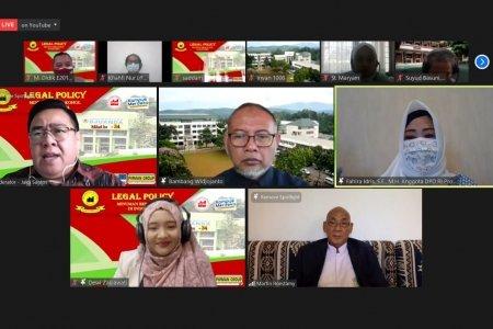 Bahas Mengenai Legalitas Minuman Beralkohol di Indonesia, FH UNIDA Bogor Gelar Webinar Nasional