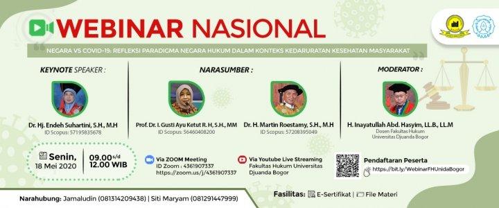 Informasi Webinar Nasional