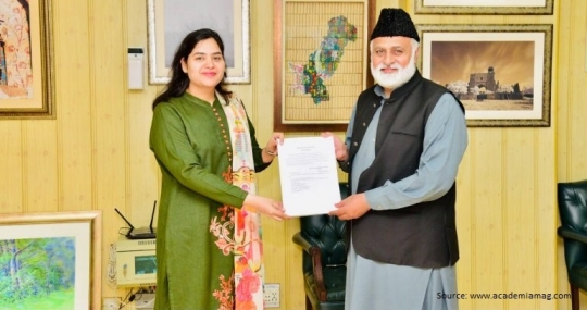 Congratulations To Dr. Lubna Zaheer as Chairperson of Film Dept, Punjab University Pakistan.