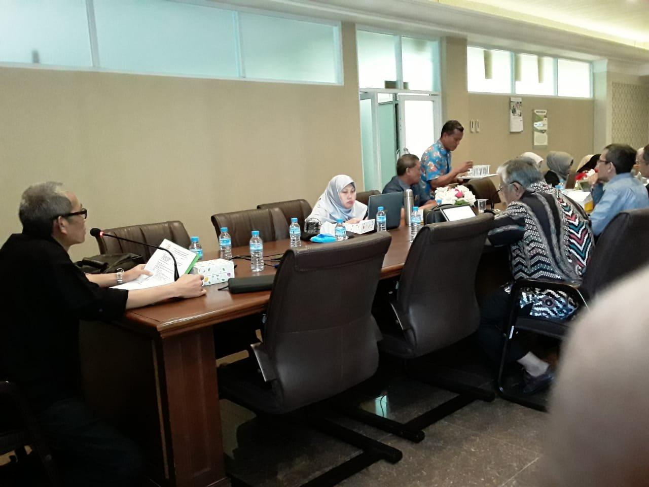 Rapat Pimpinan di Pimpin oleh Rektor Universitas Duanda