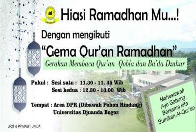 Menghiasi Ramadhan Dengan Membaca Quran di Kampus Bertauhid