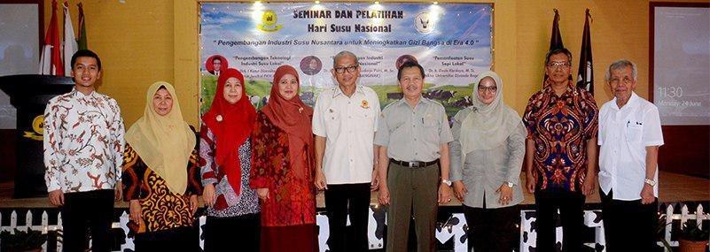 Fakultas Pertanian Universitas Djuanda Bogor Peringati Hari Susu Nasional dengan Seminar dan Pelatihan Susu