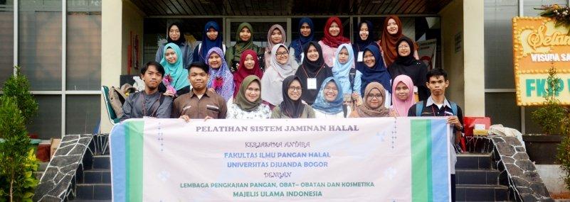 Fakultas Ilmu Pangan Halal UNIDA Bogor Bekali Lulusan dengan Pelatihan Sistem Jaminan Halal