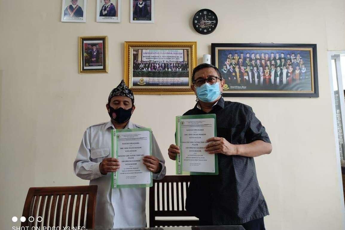 SMK Bina Insan Mandiri Kota Bogor dan FISIP UNIDA Bogor Jalin Kerja sama Bidang Pendidikan dan Pengabdian Masyarakat