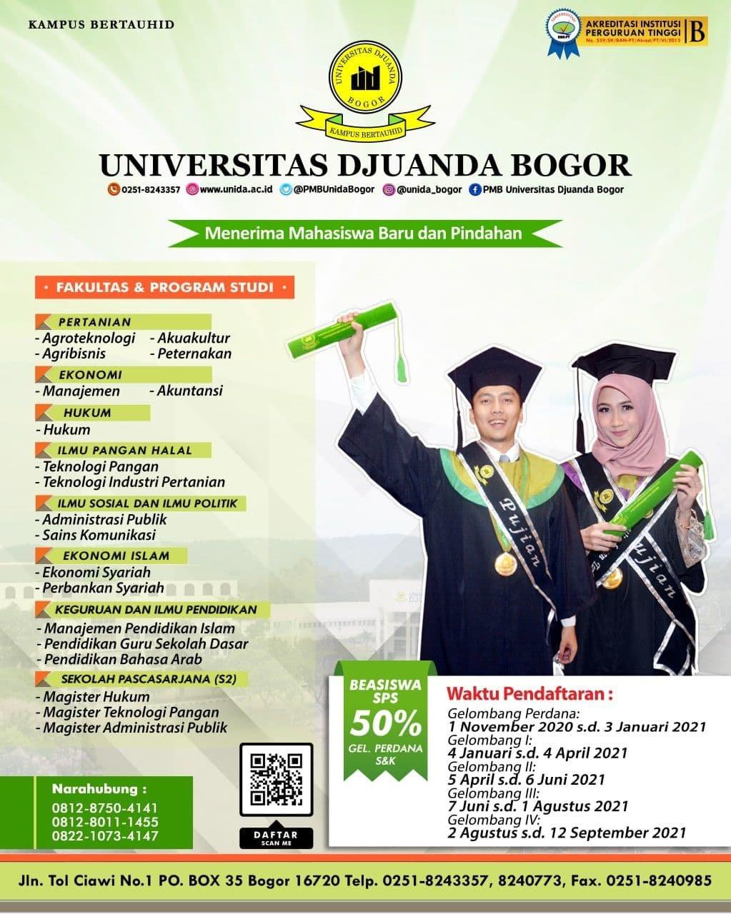 Informasi Penerimaan Mahasiswa Baru TA. 2020/2021