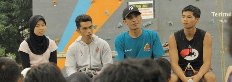 Mapala Djuanda Adakan Coaching Clinic  Safety Prosedur Panjat Tebing