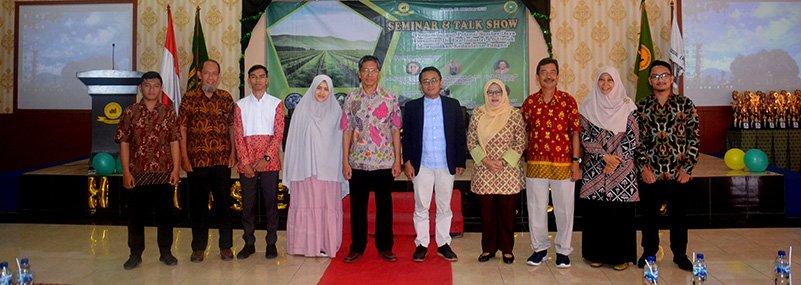 Dalam Rangka Milad ke-32, HIMASEP UNIDA Selenggarakan Seminar dan Talkshow Pertanian