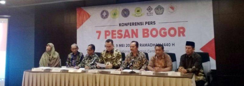 Sikapi Kondisi Nasional Pasca Pemilu, ini 7 Pesan Rektor se-Bogor