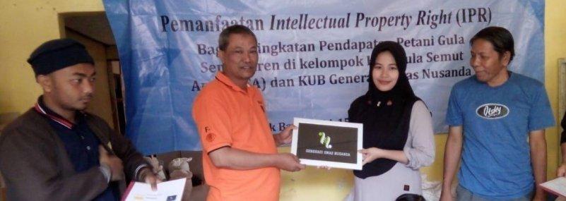 Unida Bogor Fasilitasi Pendaftaran HKI Kelompok Usaha Bersama Gula Semut Aren