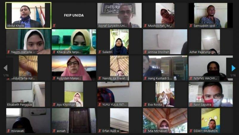 FKIP UNIDA Bogor Selenggarakan Webinar Nasional Pendidikan Karakter di Masa Pandemi