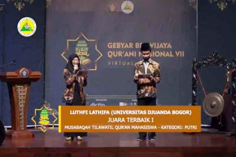 Mahasiswa UNIDA Bogor Raih Juara dalam Gebyar Brawijaya Qur'ani Nasional 2020