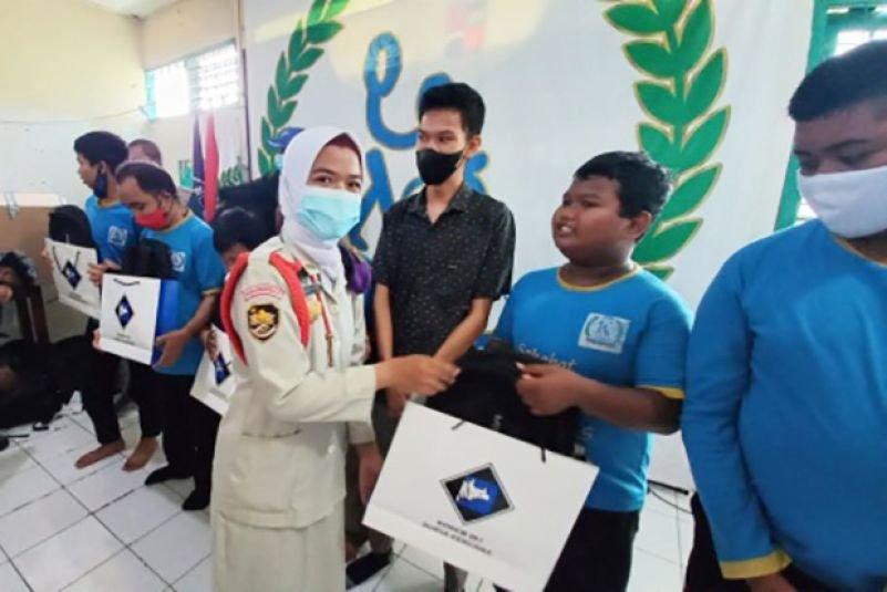 Menwa UNIDA Bogor Ikut Bagikan Bantuan dan Santunan  Untuk Penyandang Disabilitas Kota Bogor